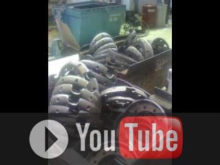 Embedded thumbnail for Линия по обработке колесных дисков