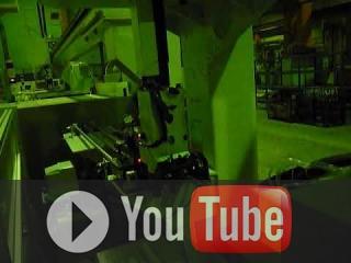 Embedded thumbnail for Производственная роботизированная линия из 4-х станков